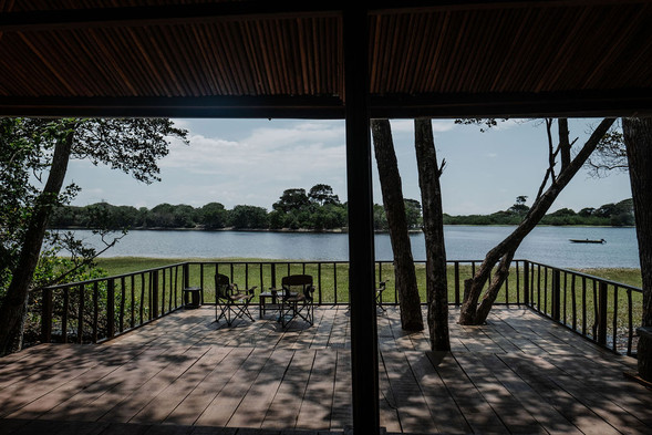 Outlook Area Louri Wilderness Camp Loango Gabon