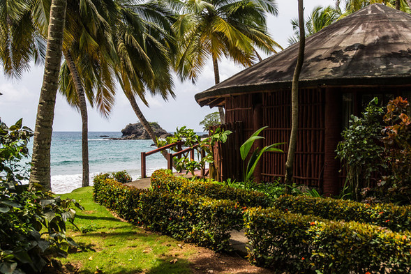 Tropical Beach Lodge BomBom Príncipe
