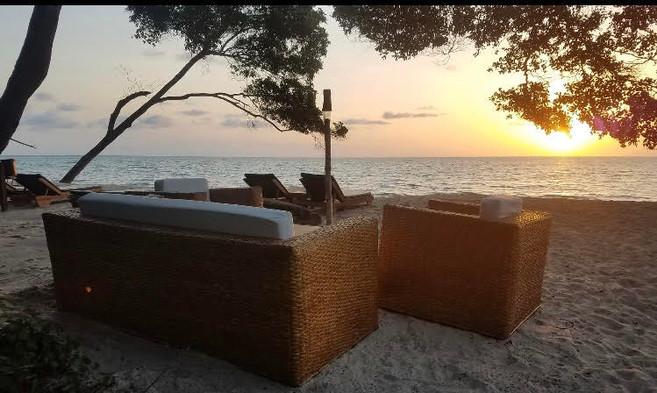 Beach Pongara Gabon