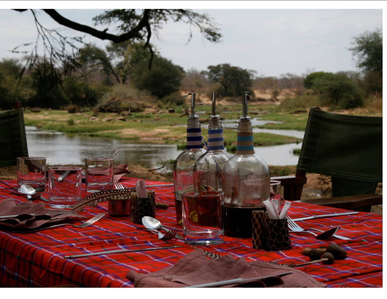 Bush Lunch at Jongomero, Ruaha