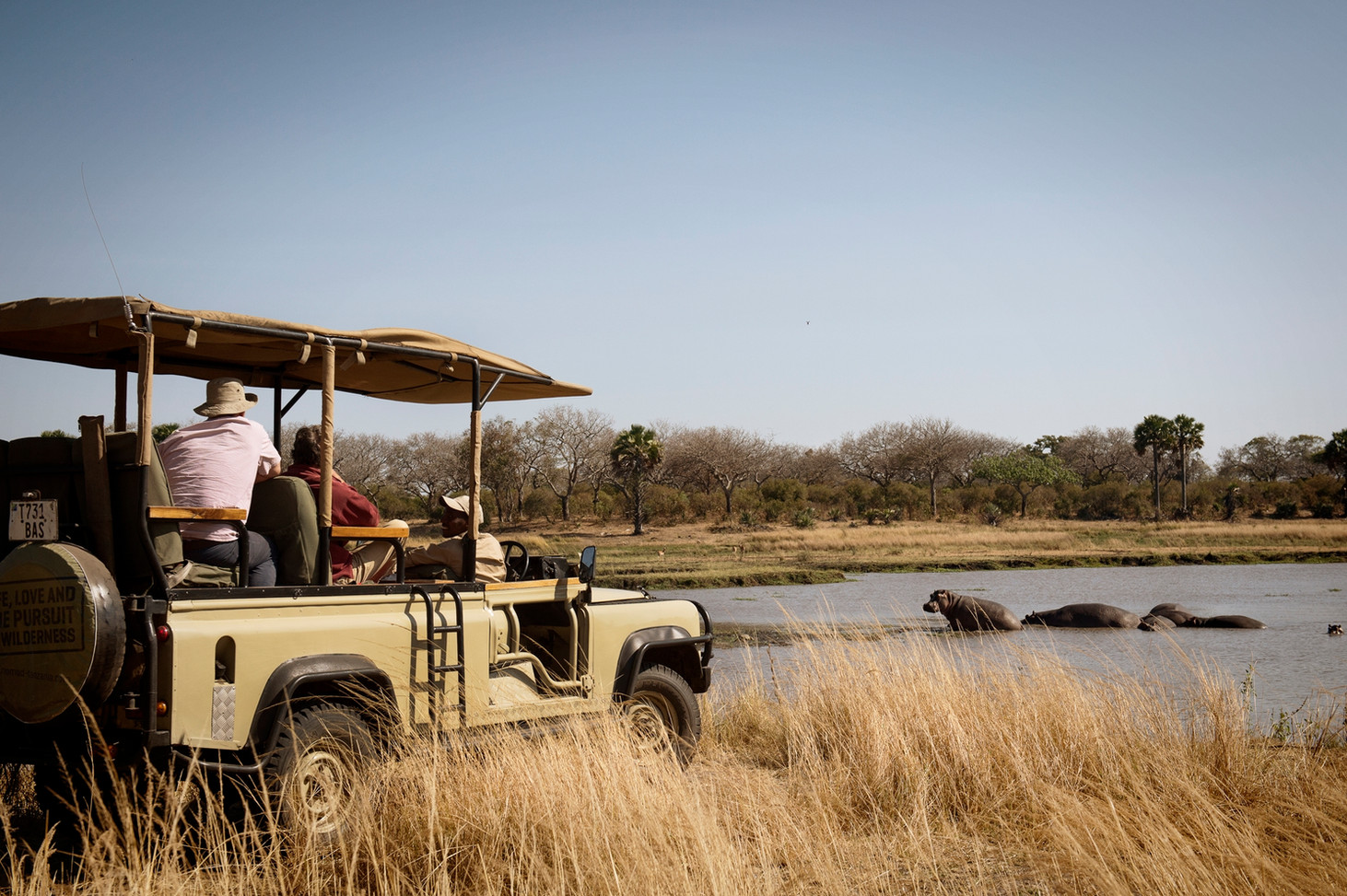 Chada Katavi Hippo Viewing on Game Drive Tanzania