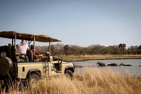 Game Drive 4WD Katavi National Park Tanzania