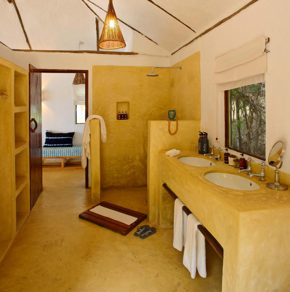 Ensuite Bathroom Rubondo Island Chimp Ca