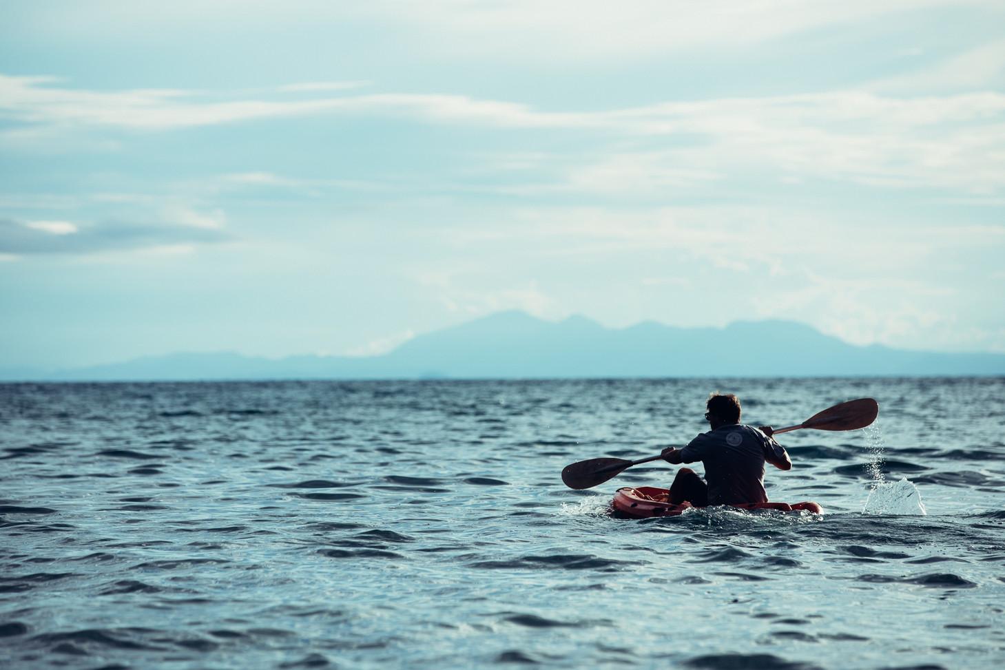 Kayaking on Lake Tanganyika