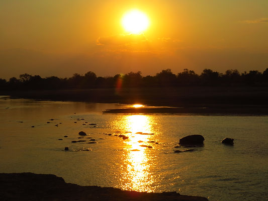 Sunset Luangwa Valley Zikomo Zambia