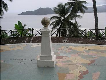 Rolas Island Sao Tome Equator