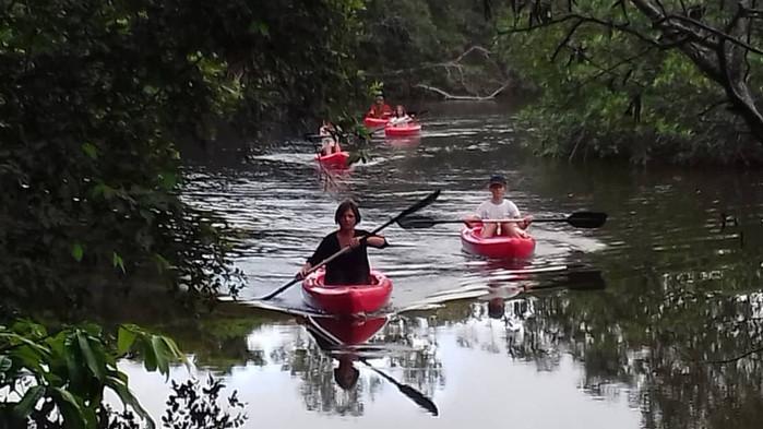 Kayak Tour Pongara Lodge Gabon