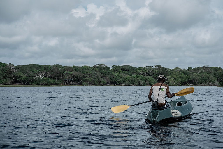Kayaking Louri Gabon