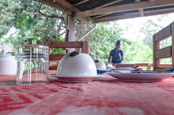 Restaurant Pongara Lodge Gabon