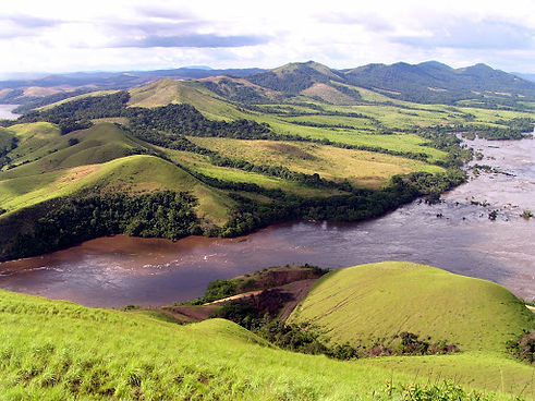 Lopé Gabon Mountains Scenery