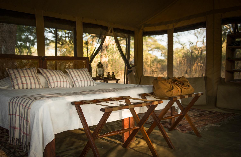 Bedroom Chada Katavi Camp Tanzania