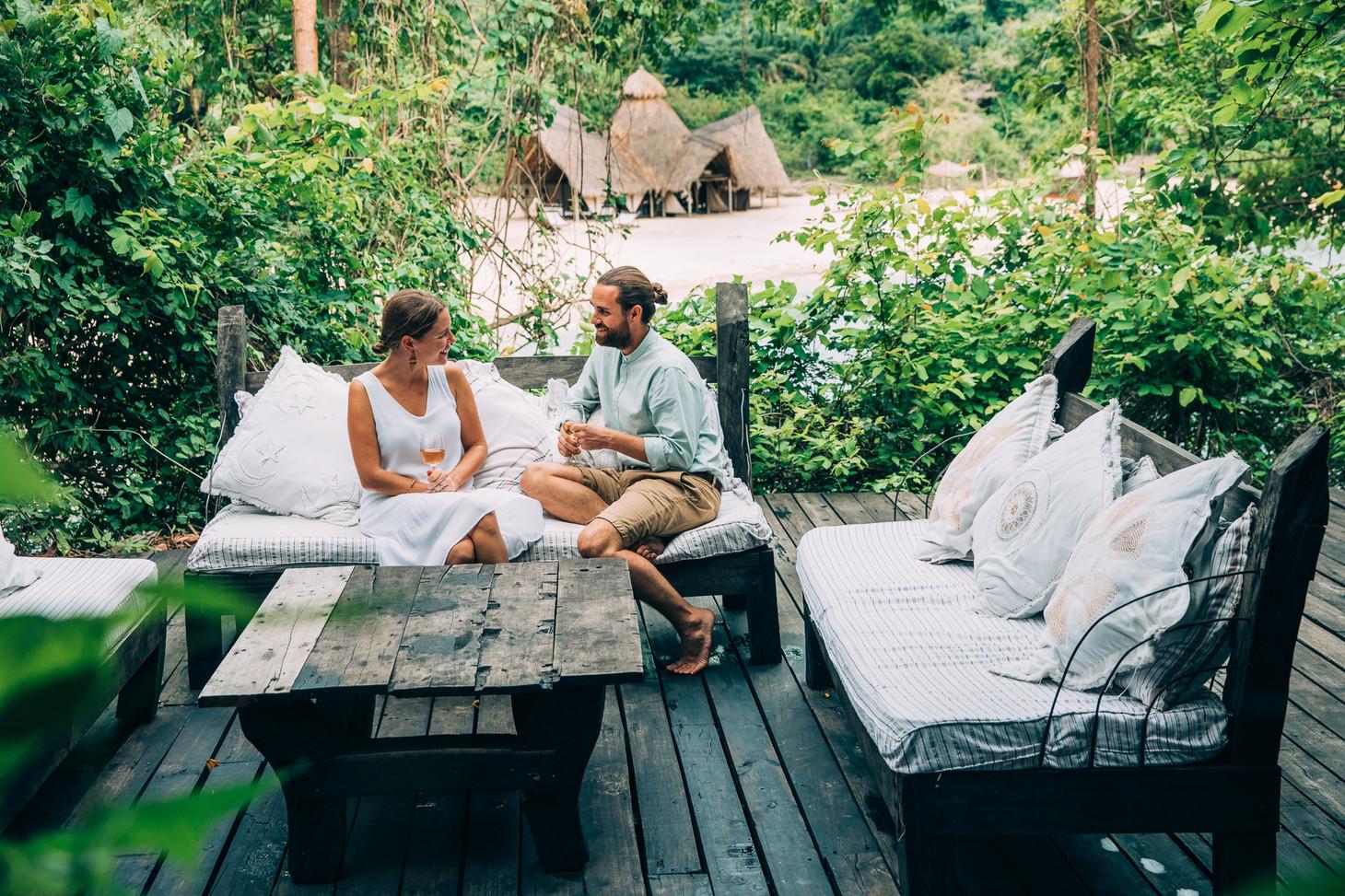 Lounge Area at Greystokes, Mahale, Tanzania