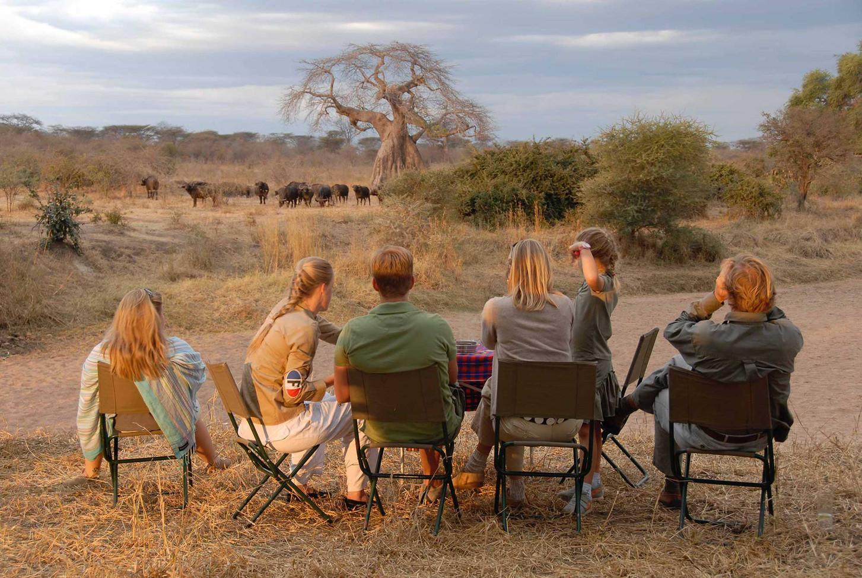 Game Viewing Siwandu Selous Tanzania