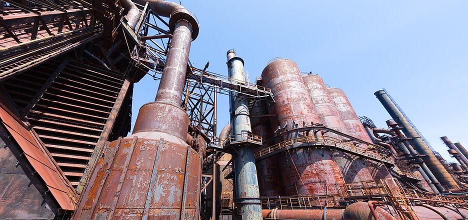 Abandoned steel plant Old Bethlehem Stee