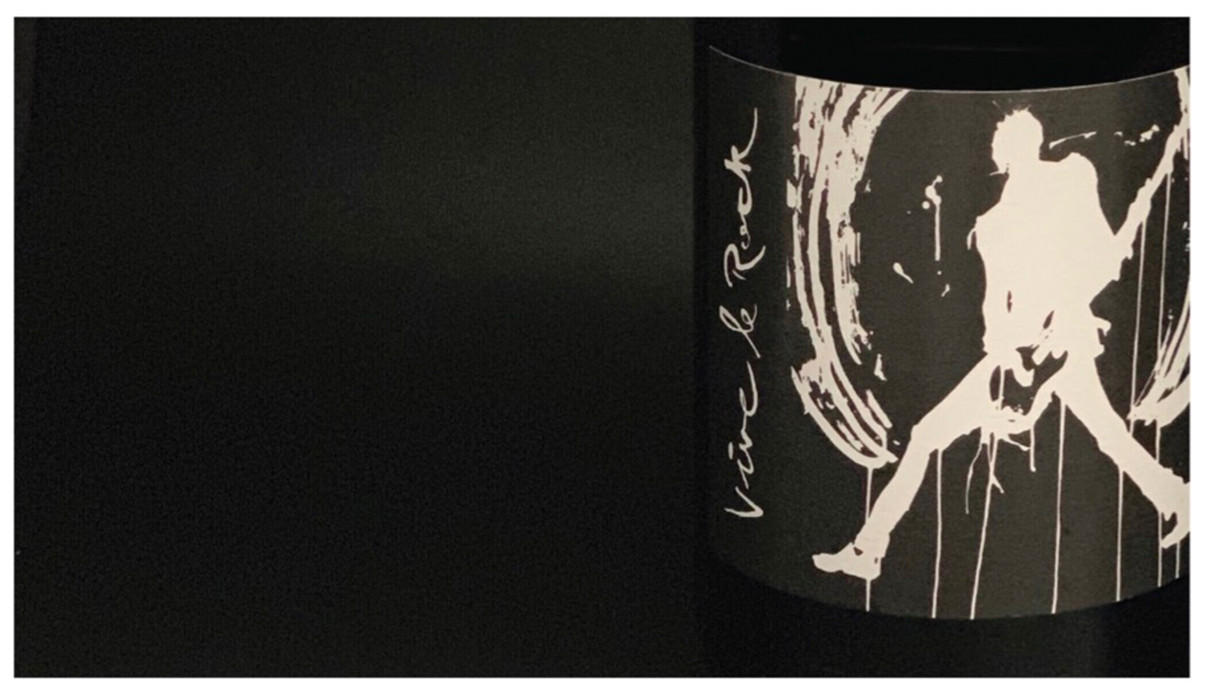 VIVE LE ROCK - Wine Label
