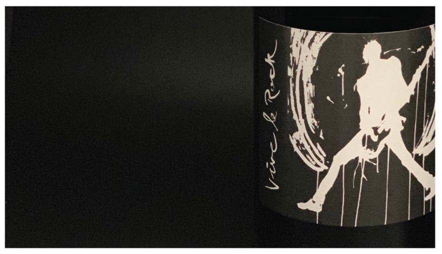 VIVE LE ROCK - Wine Label