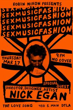 Sex, Music, Fashion