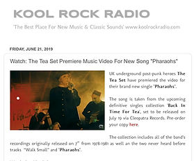 KOOL ROCK RADIO- Watch- The Tea Set Prem