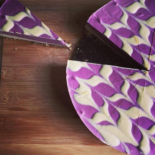 Gâteau fauxmage et petits fruits