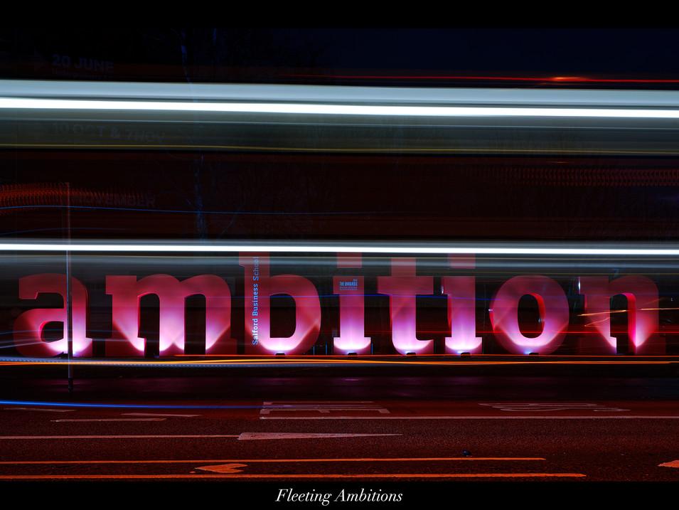 Fleeting Ambitions