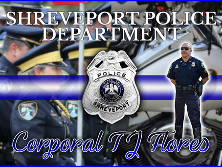 Shreveport Police Corporal T.J. Flores Dies from Cancer