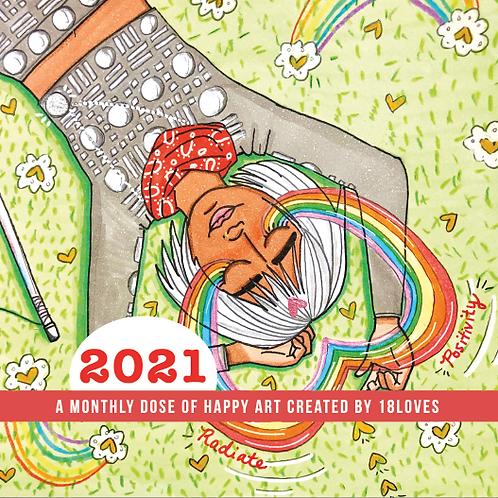 2021 Hand-signed Calendar