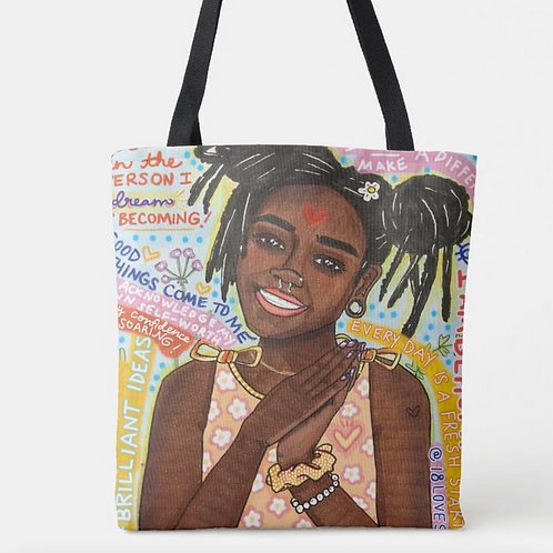 """""""Repeat After Me"""" Tote"""