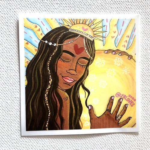 """""""Summer Solstice"""" Sticker"""