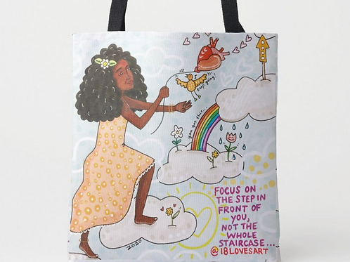 """""""Going Up"""" Tote"""