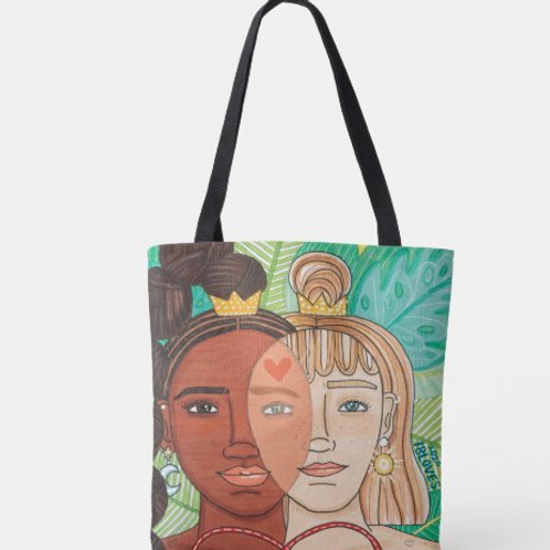 """See the Color"" Canvas Tote"
