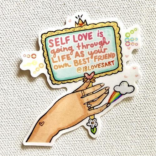 """Self Love"" Sticker"