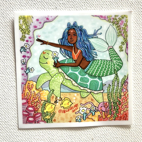"""Drop in the Ocean"" Sticker"