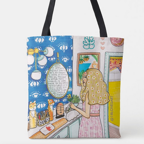 """""""Reflections"""" Tote"""