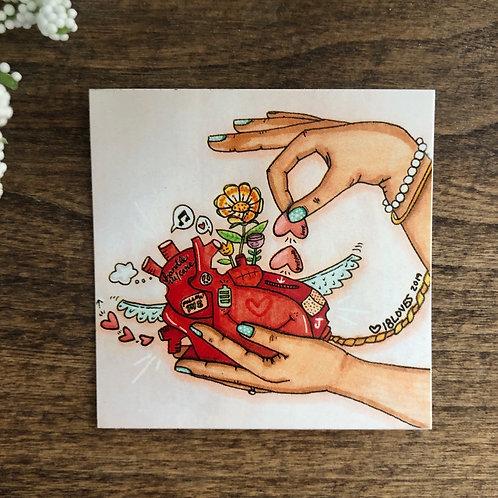 """The Heart"" Sticker"
