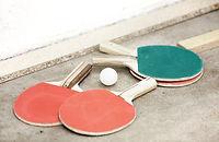 Ping-pong pagaies