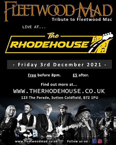 The Rhodehouse Fleetwood Mad