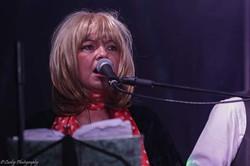 Shaz as Christine McVie