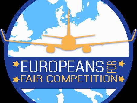 Europeans For Fair Competition demande une révision de l'accord de transport aérien Qatar-UE