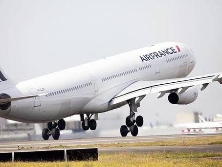 L' Airbus A340 quitte progressivement les cieux