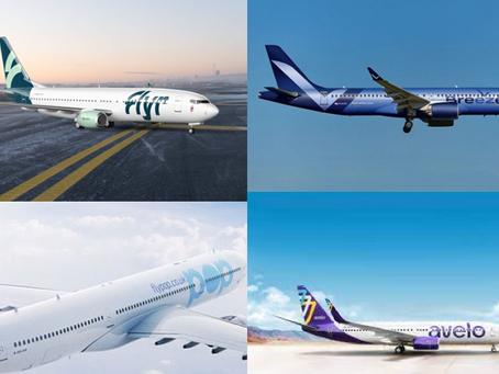 Les compagnies aériennes qui ont choisi la crise pour se lancer : Avelo, Breeze, Flypop, SkyAlps...