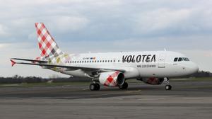 Airbus A319 de Volotea crédit photo : Volotea  gate7