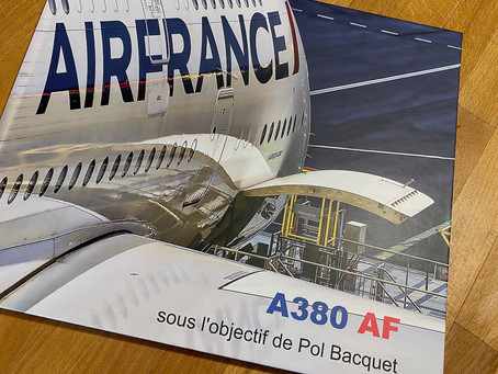 Le livre photos de l'Airbus A380 d'Air France