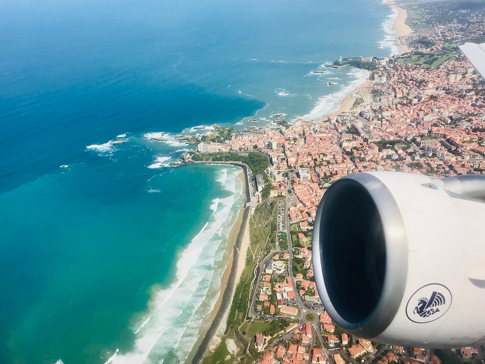 Air France take off from Biarritz Christophe Chouleur Gate7