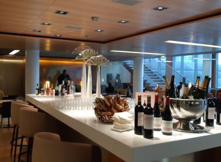 Réouverture du salon Air France situé  Hall K au terminal 2E de Paris CDG.