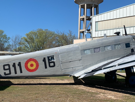 Le Musée de l'aéronautique et de l'astronautique de Cuatro Vientos à Madrid.