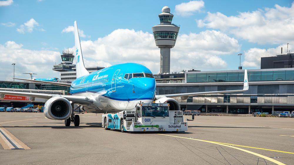 KLM 737 AMSTERDAM
