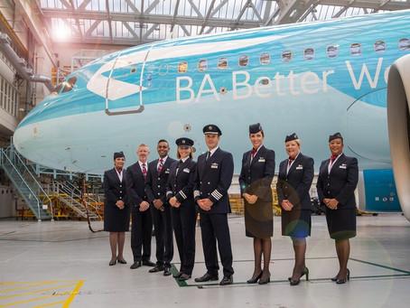 British Airways lance BA Better World et crée une livrée spéciale pour l'occasion