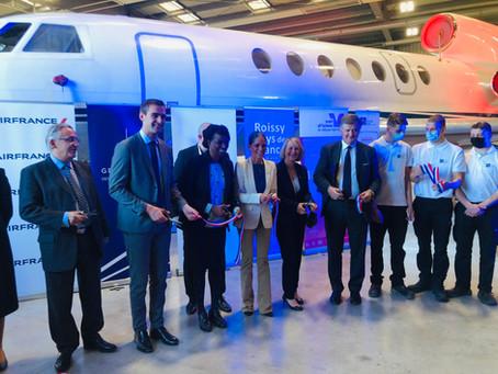 Inauguration des locaux de l'AFAMé. Une formation d'excellence aux métiers de l'aérien.