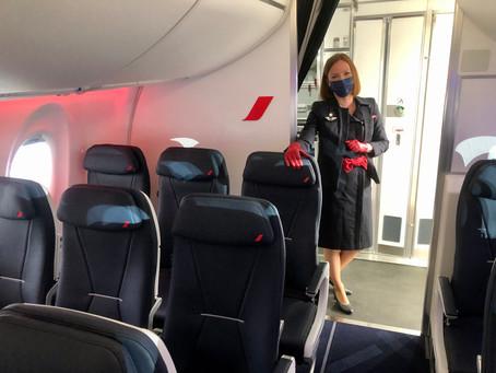 Reportage : Air France accueille son 1er Airbus A220-300 à Paris-CDG.