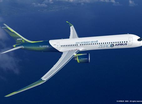 Découvrez les nouveaux concepts d'avion zéro émission d'Airbus.